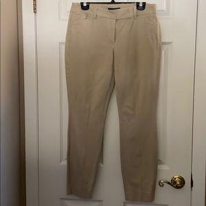 WHBM ankle pants. Tan